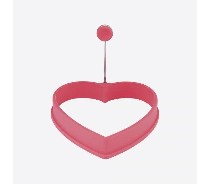 Eibakring uit silicone -hart11x11x2cm