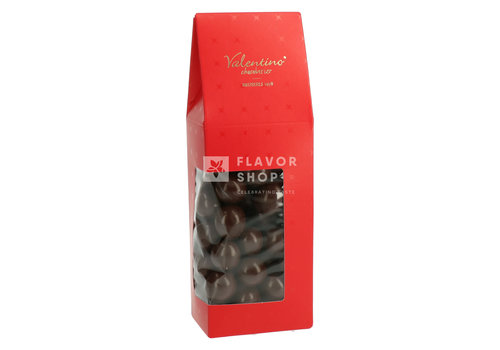 Valentino Chocolatier Hazelnoten met pure chocolade +/-200g