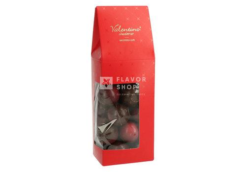 Valentino Chocolatier Truffes Gin Rouge Lindemans - Chocolat noir +/-200 g