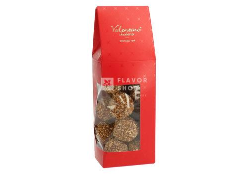 Valentino Chocolatier Truffels Hazelnoot Heaven met melkchocolade +/-200 g
