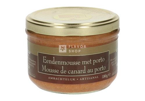 De Veurn' Ambachtse Mousse de canard au Porto - Artisanal 180 g