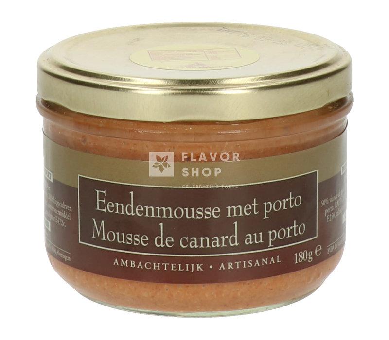 Eendenmousse met Porto - Ambachtelijk 180 g