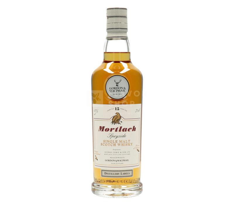 Mortlach 15Y - Gordon & MacPhail Distillery Labels