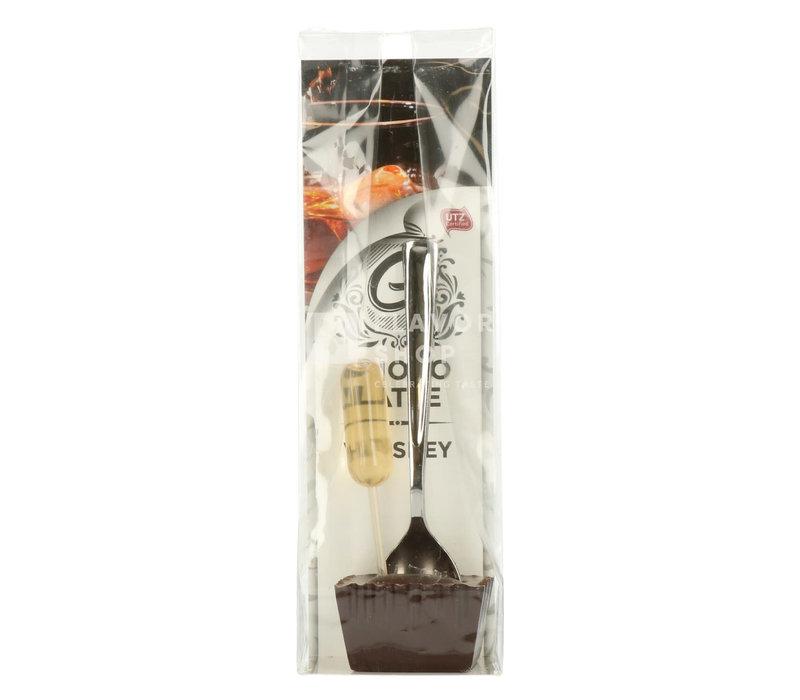 Choco Latte met donkere chocolade en whisky