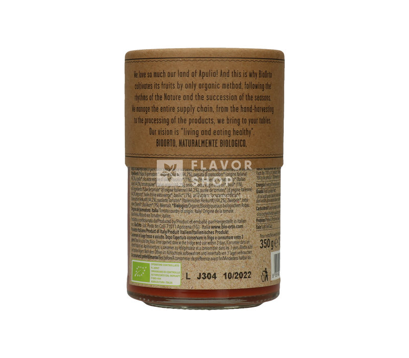 Sugo pomodoro e basilico-Bio