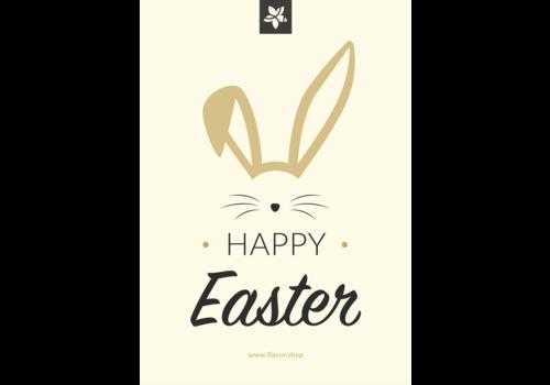 Flavor Shop 'Happy Easter' wenskaart