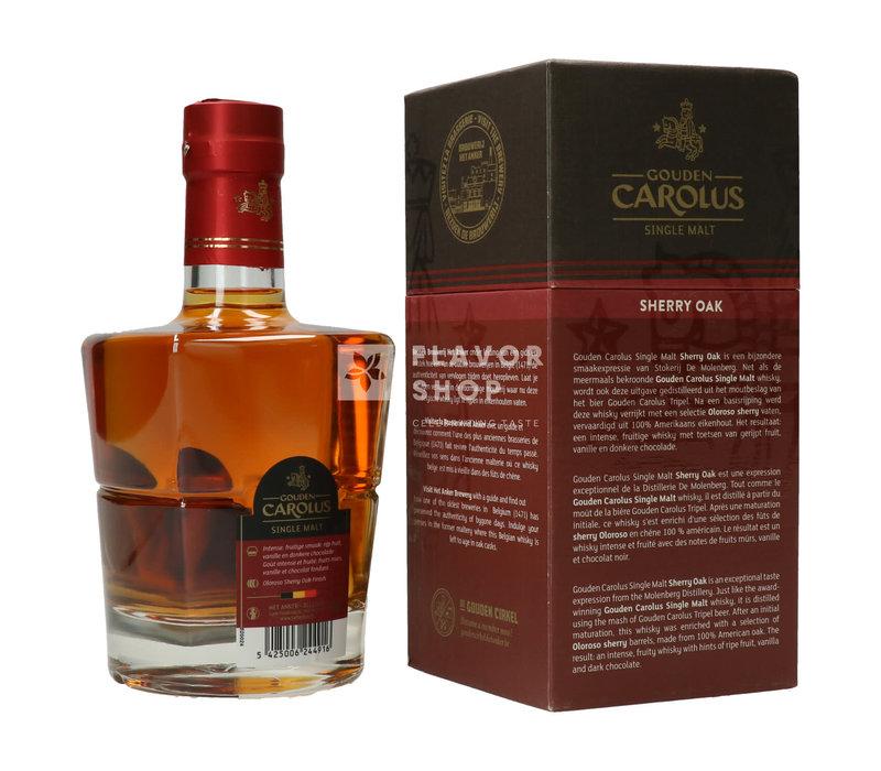 Gouden Carolus Single Malt Sherry Oak 50 cl