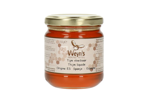Weyn's Honing Miel de thym (liquide) 250 g