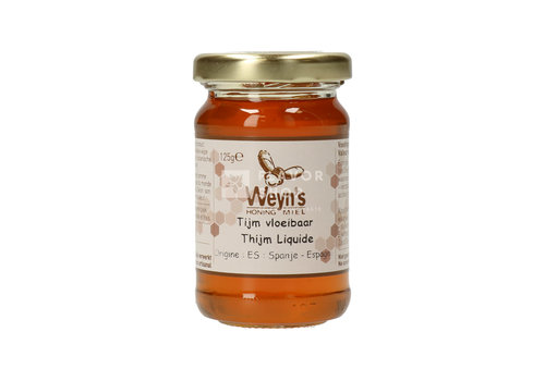 Weyn's Honing Tijm Honing (vloeibaar)125 g