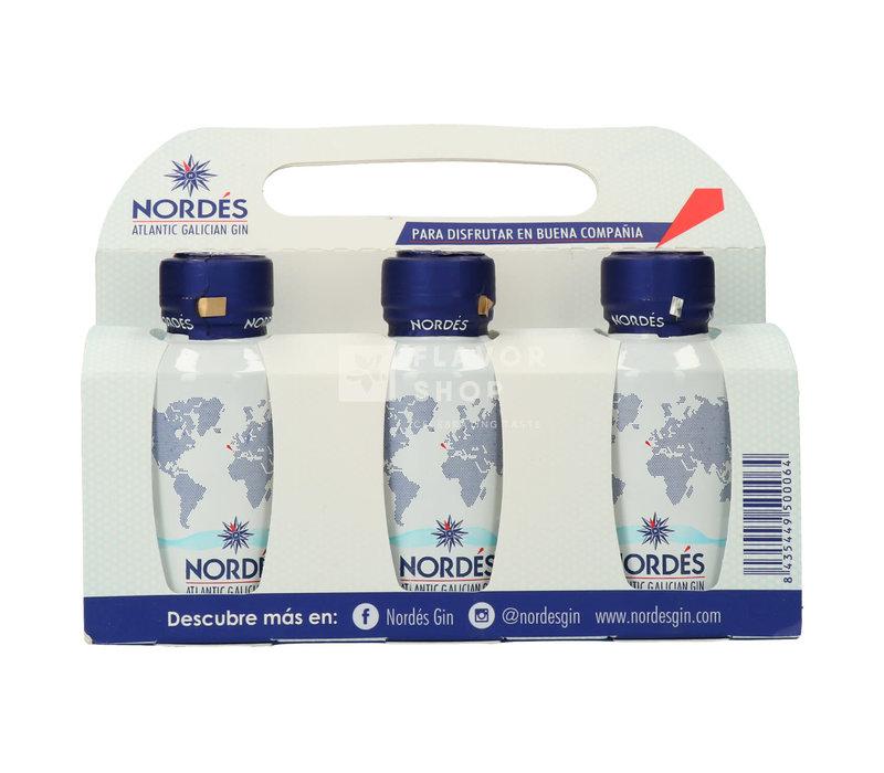Nordés Gin Box - 6 x 5 cl