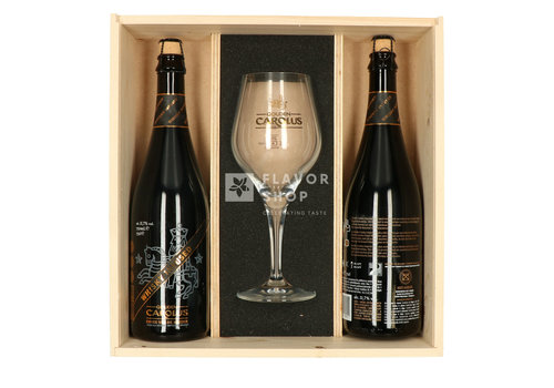Giftbox Gouden Carolus Whisky Infused 75 cl