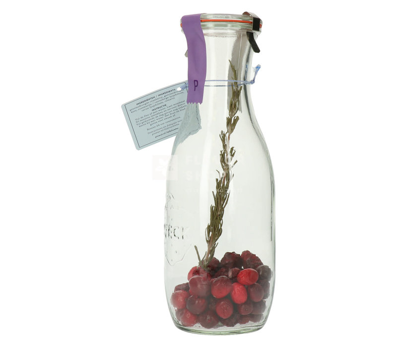 Tafelwater Kers, Cranberry & Rozemarijn - Pineut