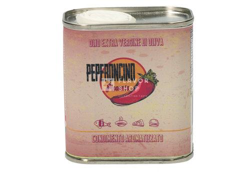 Peperoncino Extra Virgine Olijfolie in blikje 10 cl