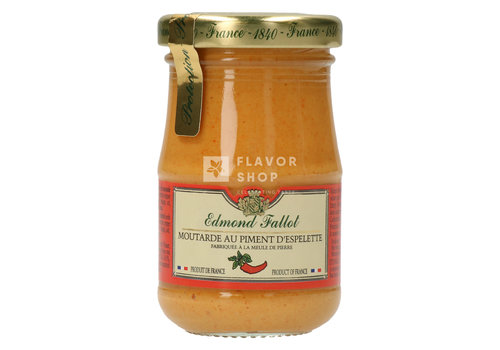 Edmond Fallot Mosterd met Piment d'Espelette uit Dijon