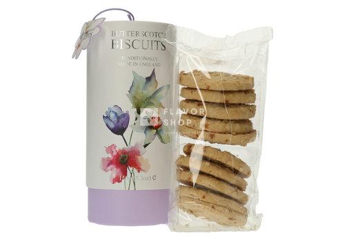 Botanical Floral Butterscotch biscuits