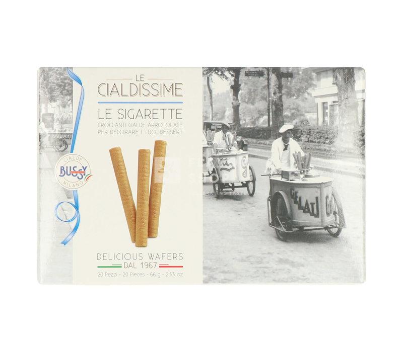 Biscuits à la crème glacée - Le sigarette