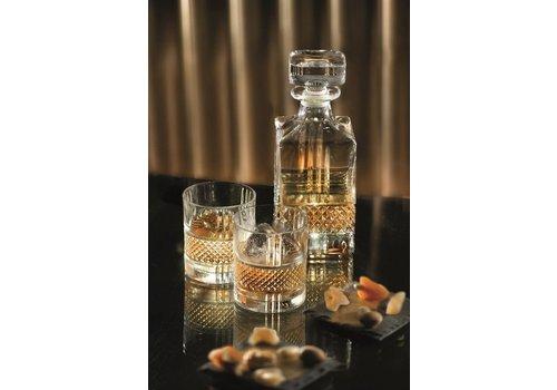 RCR Cristalleria Italiana Whisky set 7 delig Brillante