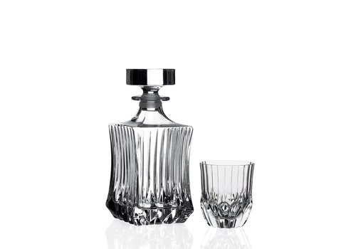RCR Cristalleria Italiana Whiskyset 7-delig Adagio