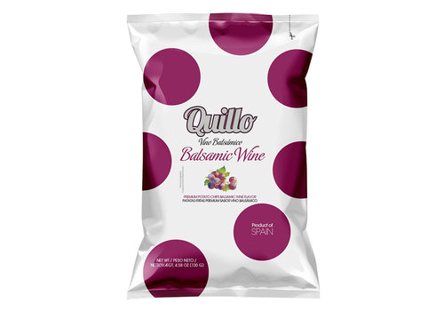 Quillo Chips Balsamic Wine 130 g