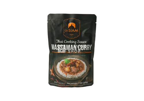 deSIAM Massaman Sauce au Curry en Pouch 200 g