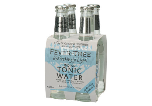 Fever Tree Light Tonic 4 bouteilles