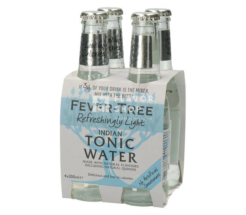Fever Tree Light Tonic - clip 4 flesjes