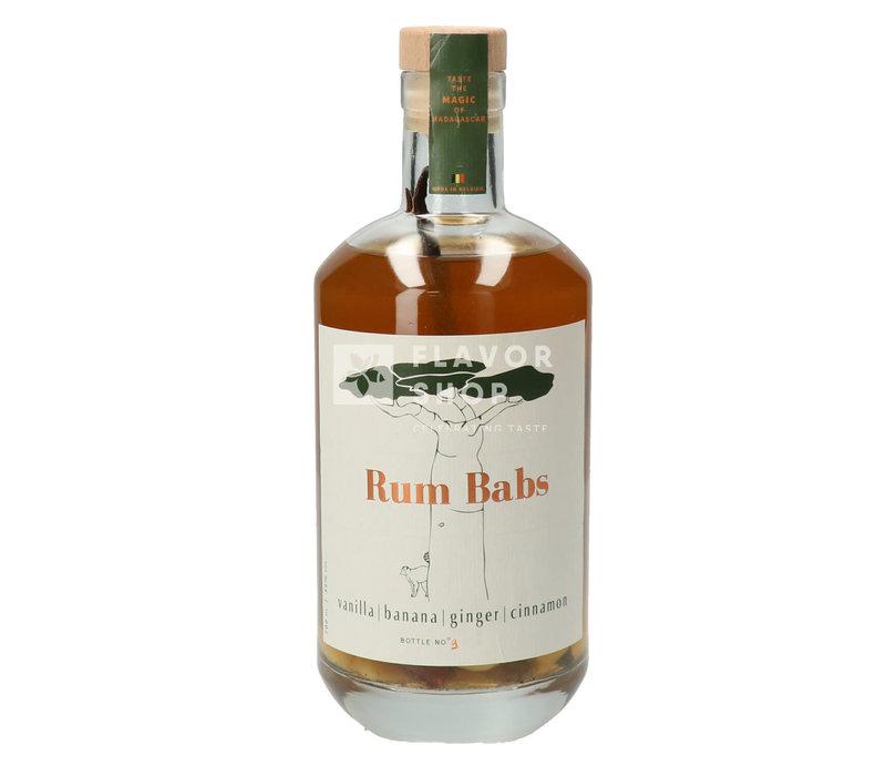 Rum Babs - Vanille, Banane, Gingembre et Cannelle - Rum Arrangé