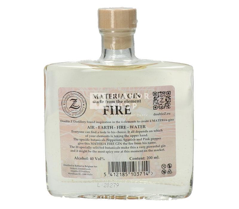 Materia Fire Gin 20 cl