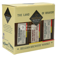 Waterloo Whisky Giftpack 3 x 0.2 L