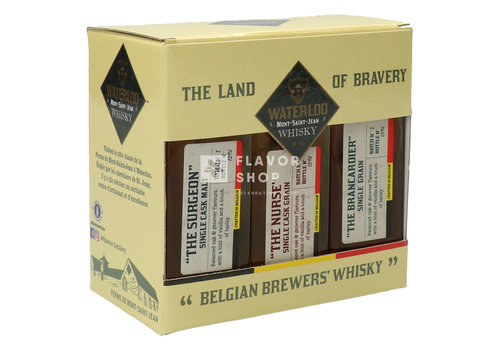 Waterloo Whisky Giftpack 3 x 20 cl