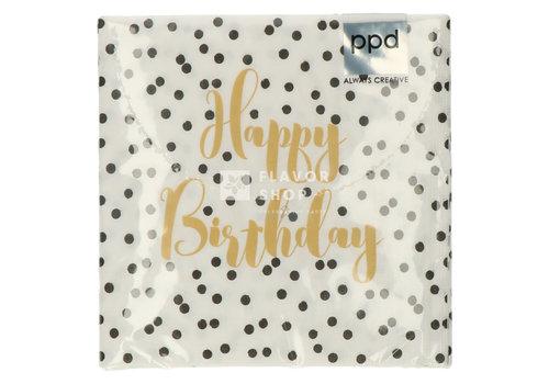 PPD Servietten Birthday Confetti 33x33 cm