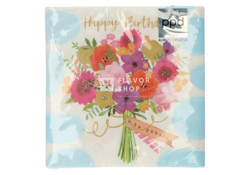 PPD Servietten Happy Flowers