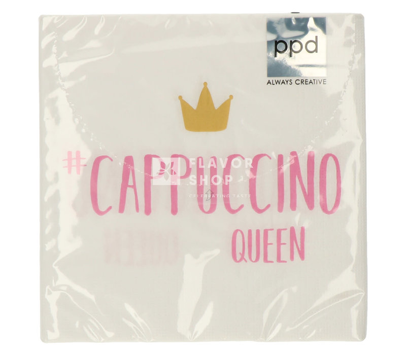 Servietten Cappuccino Queen 33x33 cm