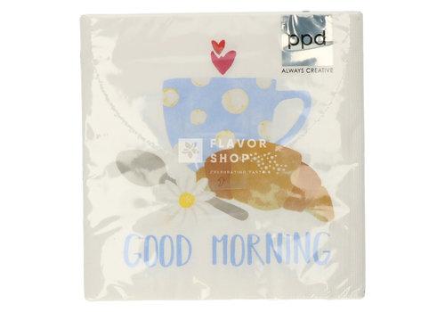 PPD Servietten Good Morning