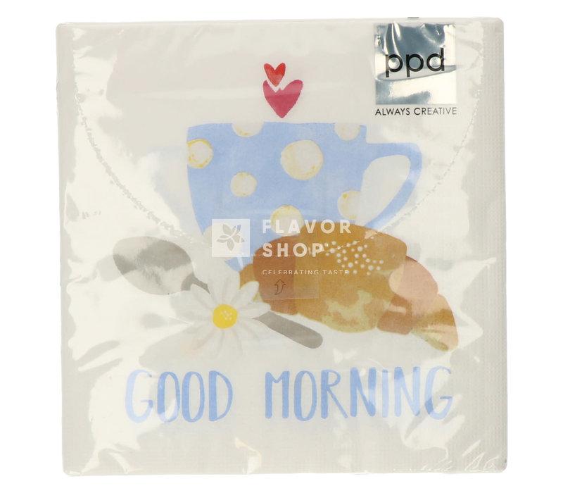 Servietten Good Morning 33x33 cm
