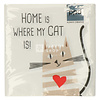 PPD Servietten Home Cat 33x33 cm