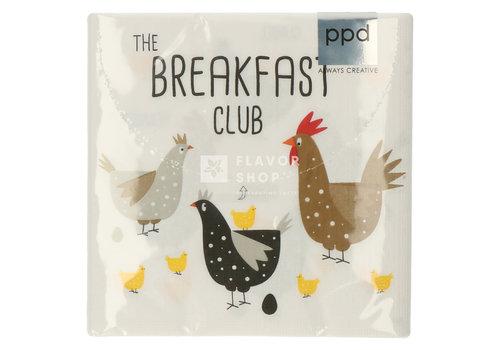 PPD Servietten Breakfast Club 33x33 cm
