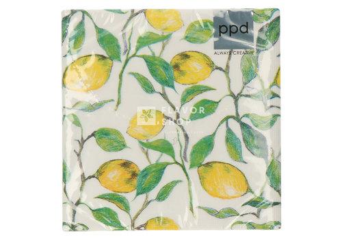 PPD Servietten Beautiful Lemons 33x33 cm