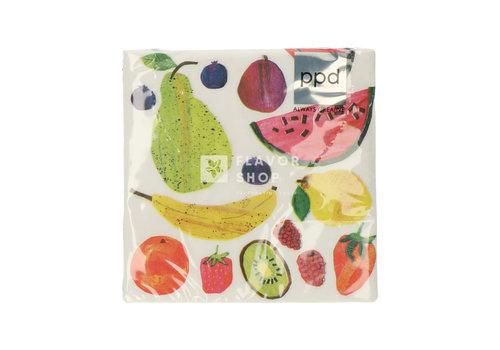 PPD Servietten Tutti Frutti