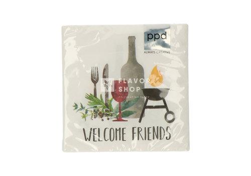 PPD Servietten Grill & Friends