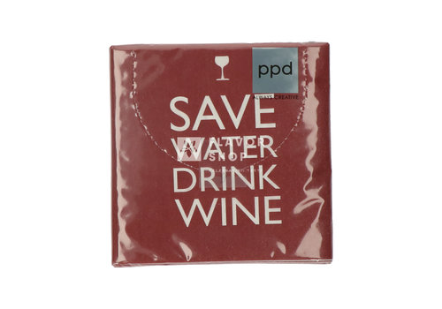 PPD Servietten Save Water