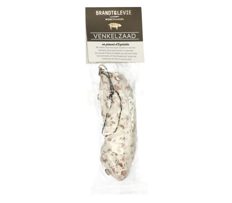 Droge worst Venkelzaad & Piment d'Espelette 150 g