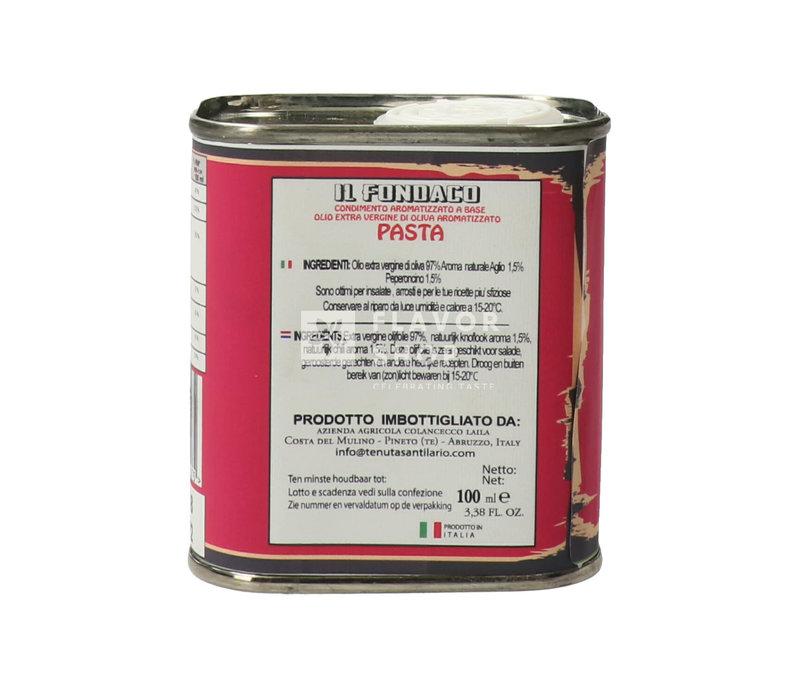 Huile d'Olive Pâtes Extra Vierge en boîte de 100 ml