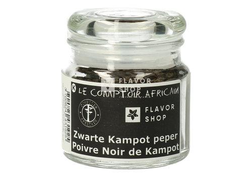 Le Comptoir Africain x Flavor Shop Zwarte Kampot peper - hele bessen