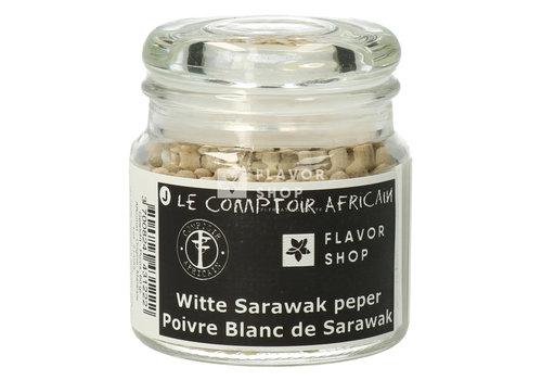 Le Comptoir Africain x Flavor Shop Witte Sarawak peper