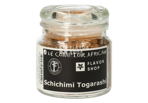 Le Comptoir Africain x Flavor Shop Shichimi Togaraschi ou 7 épices Japonais (Japon)