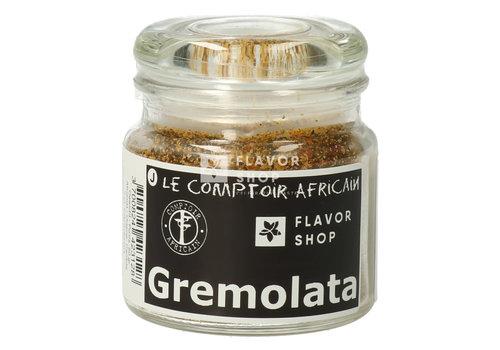 Le Comptoir Africain x Flavor Shop Gremolata