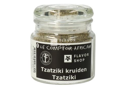 Le Comptoir Africain x Flavor Shop herbes tzatziki