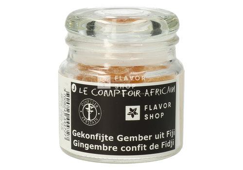 Le Comptoir Africain x Flavor Shop Gekonfijte Gember uit Fiji