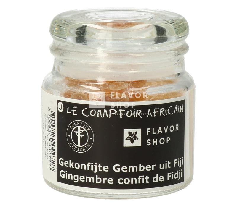 Gekonfijte Gember uit Fiji - Le Comptoir Africain